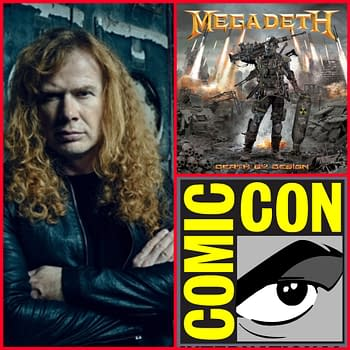 Dave Mustaine Signs Megadeth Graphic Novel at San Diego Comic-Con &#8211 And Other Heavy Metal Exclusives and Debuts