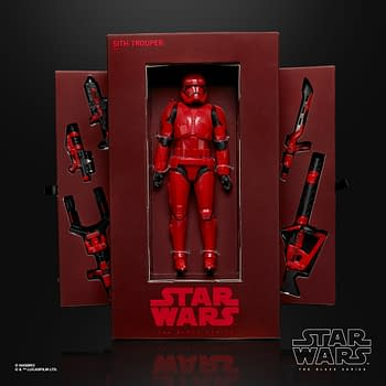 Sith Trooper Revealed Star Wars Rise of Skywalker Merch On Sale at SDCC
