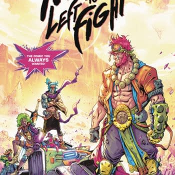 No One Left to Fight Gets a 4-Page Online Prequel Comic