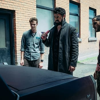 The Boys Season 2: Karl Urban Jack Quaid &#038 Tomer Capon Offer Well-Hydrated One-Finger Salute [IMAGE]