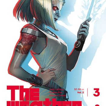 Stephanie Hans FOC Cover to Weatherman Vol 2 #3 a Little Bit Early&#8230
