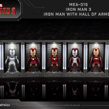 Iron Man Hall of Armor Figures from Beast Kingdom: Coming Soon!