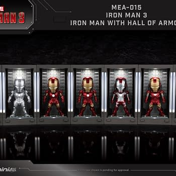 Iron Man Hall of Armor Figures from Beast Kingdom: Coming Soon