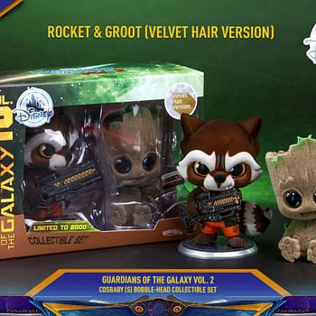 D23 Gets Two New Adorable Hot Toys Marvel Cosbabys
