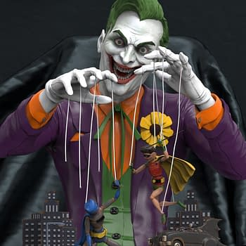 The Joker Is Pulling All the Strings with Exclusive Geek X Statue [Teaser]