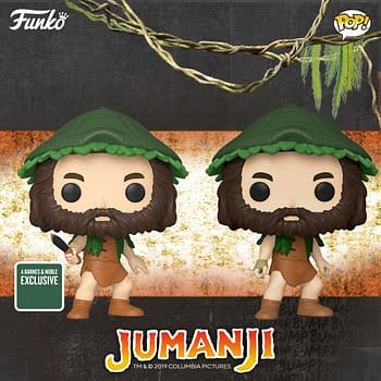 Jumanji Steps out of the Jungle with New Funko Pops