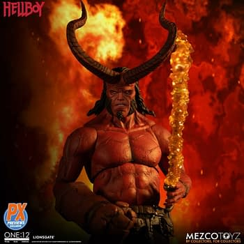 New Hellboy Previews Exclusive Figure Ready To Raise Some Hell