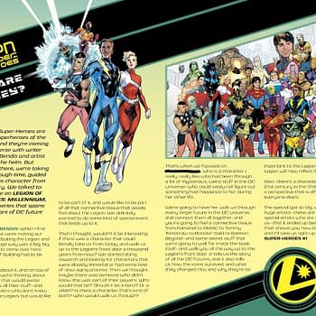 The Legion Of Super-Heroes Preview That Didnt Appear In Todays DC Comics