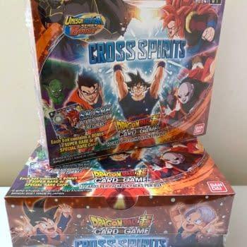 Dragon Ball Super Card Game: Cross Spirits Booster Box Opening