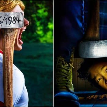 American Horror Story: 1984 &#8211 Mr. Jingles Shows Off Ax-Throwing Skills Love of Hide-n-Seek [PREVIEW]