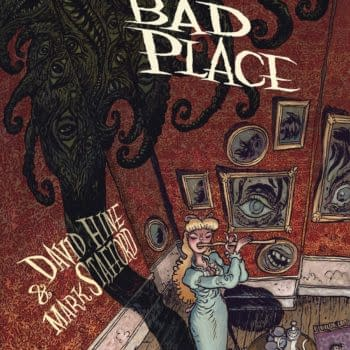 Amongst 500 Pages of the New Previews, Spider-Man Noir Creator's Bad Bad Place is Hiding...