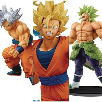 Dragon Ball: Five New BanPresto Figures Up For Order
