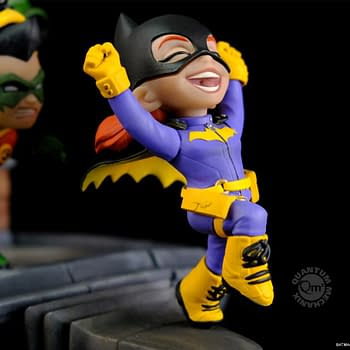The Bat Family Teams-Up for Adorable Q-Master Statue