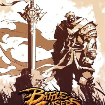 """Joe Madureira's """"Battle Chasers Anthology"""" Drops Pages, New Sketches, Artwork and Poster"""