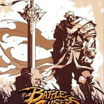 Joe Madureiras Battle Chasers Anthology Drops Pages New Sketches Artwork and Poster