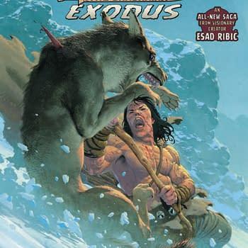 Silent Bear Murder in Conan the Barbarian: Exodus #1 [Preview]