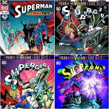 Comic Stores Told to Destroy All Copies of Next Weeks Superman #14 and Supergirl #33