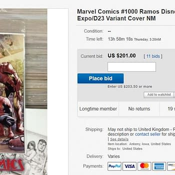 Somce Comic Stores Get a Copy of Marvel Comics #1000 Mickey Mouse D23 Cover