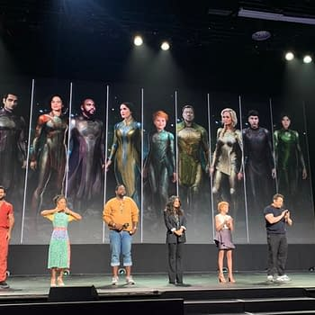 VIDEO: Marvels Eternals Reveal at D23 With Kit Harington and More