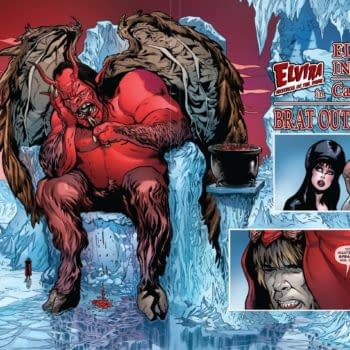 David Avallone's Writer's Commentary on Elvira: Mistress Of The Dark #8 – Channelling Gustave Doré
