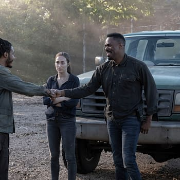 Fear the Walking Dead Season 5 Episode 11 Youre Still Here: Alicia &#038 Strand Never Run Out of Fish to Fry [PREVIEW]