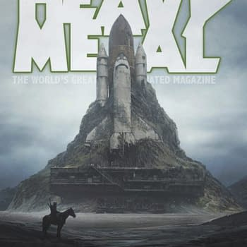 An Industrial Sized-Preview of the New Heavy Metal Magazine #294