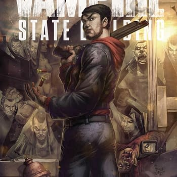 Vampire State Building Variant Homages The Walking Dead