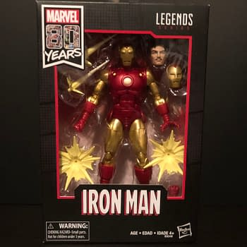 Marvels 80th Anniversary Iron Man Marvel Legends Figure [REVIEW]