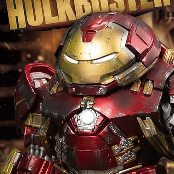 Beast Kingdom Unleashes Hulkbuster Iron Man Armor [PREVIEW]