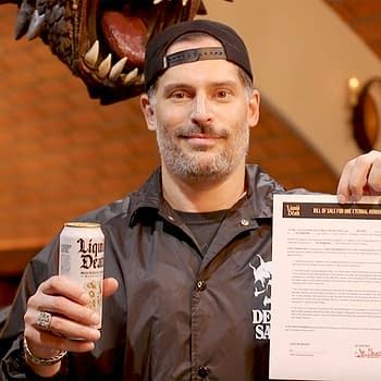 Joe Manganiello Apparently Sells His Soul To Liquid Death