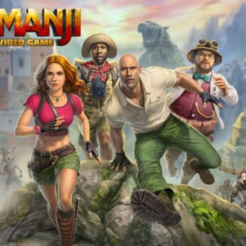 """Outright Games Shows Off More Of """"Jumanji: The Video Game"""""""