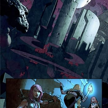 Four-Page Preview of King Thor #1 by Jason Aaron Esad Ribić and Ive Svorcina