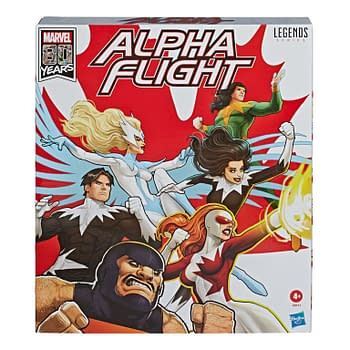 Alpha Flight Makes Their Debut with Marvel Legends Amazon Exclusive