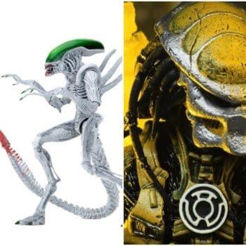 NECA Teases New Sinestro Corps Predator For NYCC 2019