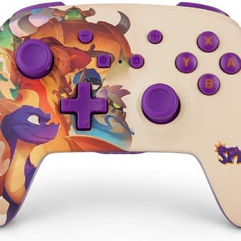 Nintendo Switch To Get A Special Spyro Controller From PowerA
