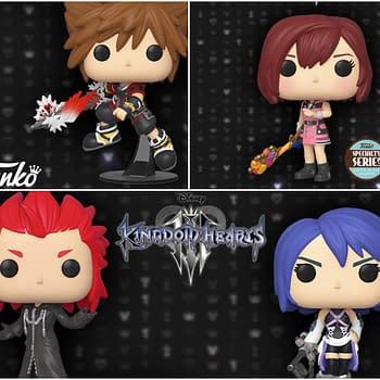 New Kingdom Hearts Pops Announced By Funko