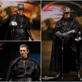 """""""The Mask Of Zorro"""" Returns Once Again With New Sideshow Figure"""
