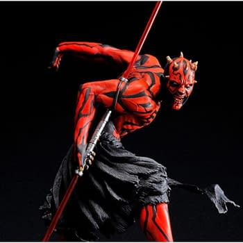 Darth Maul Statue Re-Releasing Coming Soon from Kotobukiya