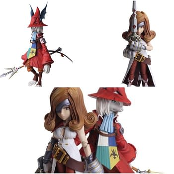 Final Fantasy IXs Freya and Beatrix Join Figure Line by Square Enix