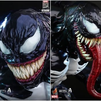 Hot Toys Celebrates 80th Marvel Anniversary With Venom