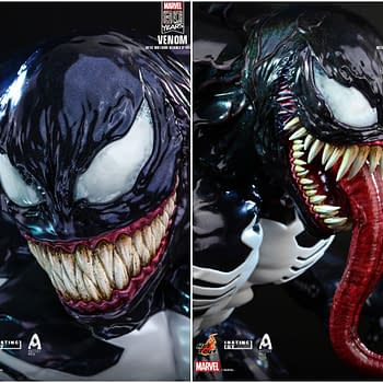 Hot Toys Celebrates 80th Marvel Anniversary With Venom Figure