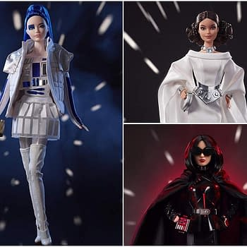 Barbie and Star Wars Team up for Some Fabulous Looking New Figures