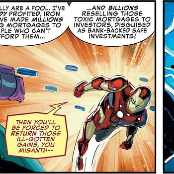 Market Correction: Iron Mans Dark Wall Street Revenge Power Fantasy from Marvel Comics Presents #7