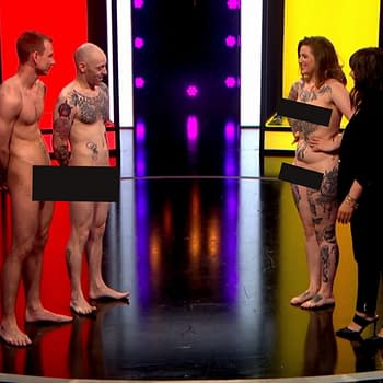 The Batman Tattoos That Won It in Channel 4s Naked Attraction Dating Show