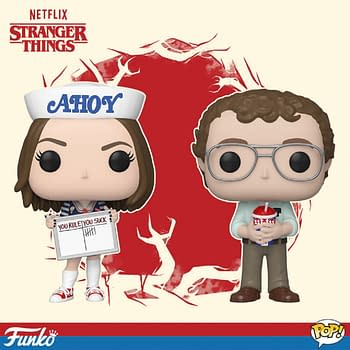 Stranger Things Funko POP Wave 3 Robin and Alexei Dial It Up to Eleven [PREVIEW]