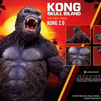 New Star Ace Toys King Kong Statue Stands His Ground
