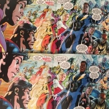 DCs Legion Skin Colour Change Between Original and Reprinted Superman #14 Out Today