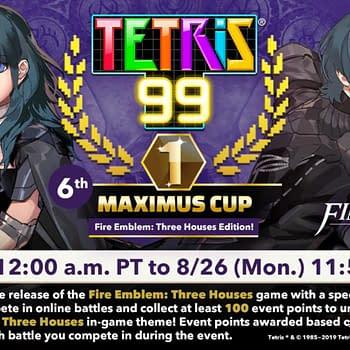 Fire Emblem: Three Houses Gets A Tetris 99 Maximus Cup