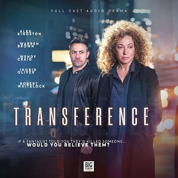 Transference: Alex Kingston Audio Thriller a Fun but Flawed Hitchcockian Effort [SPOILER REVIEW]