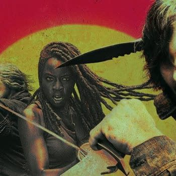 """""""The Walking Dead"""" Season 10: Is the Sun Rising or Setting for Michonne, Carol & Daryl? [OFFICIAL ARTWORK]"""